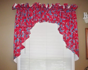 Clifford The Big Red Dog Curtains