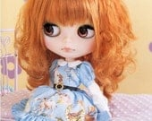 Blythe Lovely Lolita Puffy Dress, Petticoat and Stockings PDF Sewing Pattern English templates names and Sewing key included