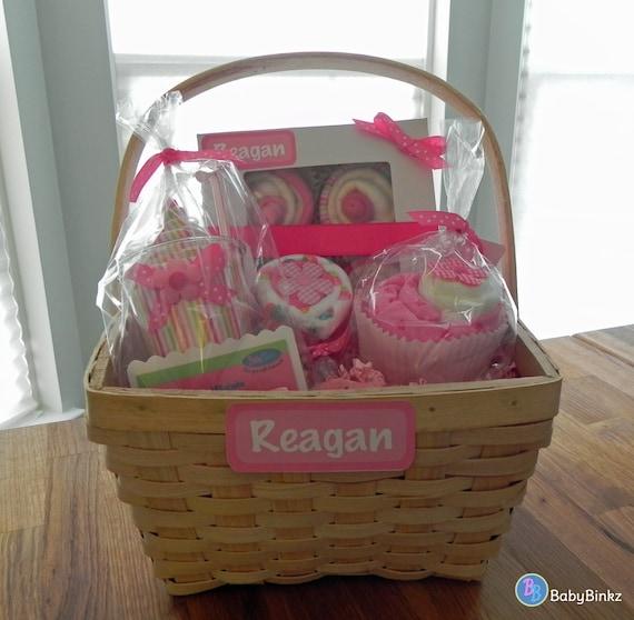 Girl Baby Shower Gift Baskets: BabyBinkz Gift Basket Unique Baby Shower Gift Or Centerpiece