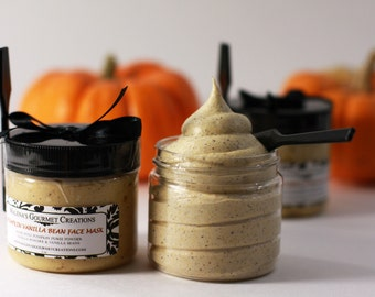 Pumpkin Vanilla Bean Face Mask
