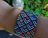 Rainbow Fish Scales Friendship Bracelet