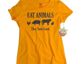 Meat Lovers Eat Animals They Taste Good Funny T shirt eat meat tshirt for meat eaters men women teens girls bacon chicken carnivore shirt