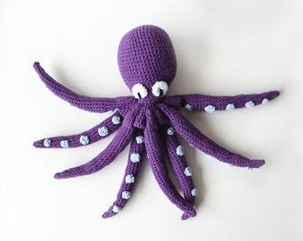 Kraken Crochet Pattern, Squid Crochet Pattern, Octopus Crochet Pattern, Crochet Kraken Pattern, Octopus Amigurumi Pattern, Octopus Pattern