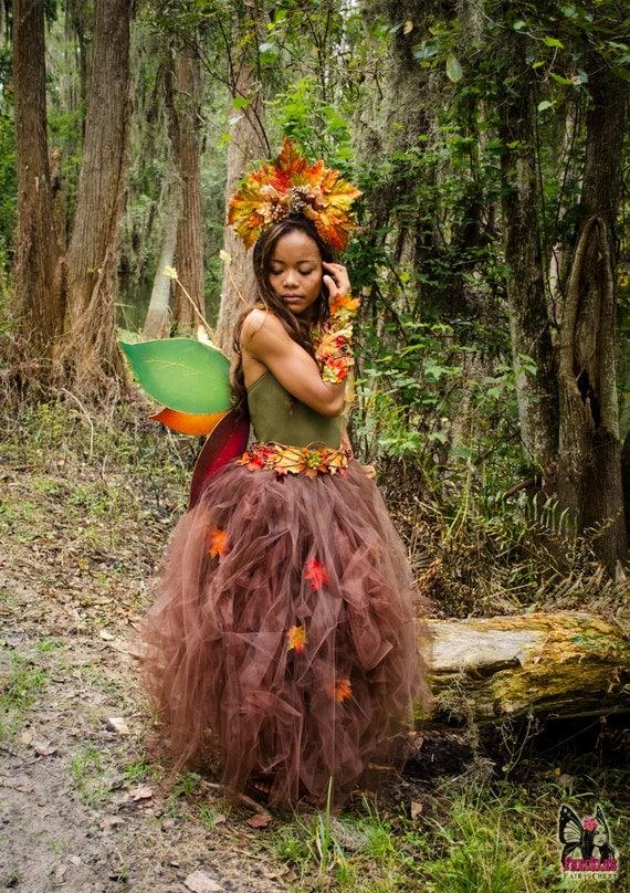 SALE Autumn Fairy leaf...