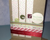 Celebrate the Season Christmas Card Handmade Card