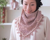 Crochet Shawl, Crochet Patterns, Japanese Book, Crochet Scarf, PDF Patterns No.15