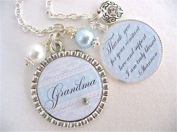 Grandmother Wedding Gift: Grandma Of The BRIDE Gift Grandmother Of The By
