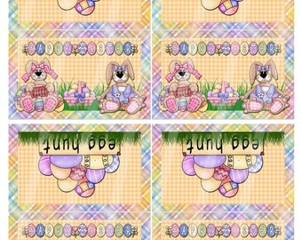 Digital Printable Easter Bag Topper