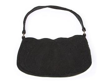 Vintage Corde black purse