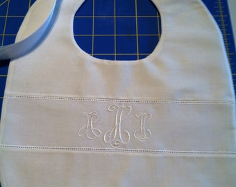 Christening Bib Baptism Dedication Special Occasion Heirloom
