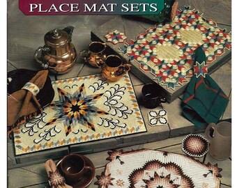 Quilt Place Mat Sets  Plastic Canvas Pattern Book Annies Attic 8732