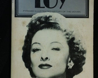 Myrna Loy by Karyn Kay vintage 1977 Pyramid Illustrated History of the Movies rare out-of-print paperback book