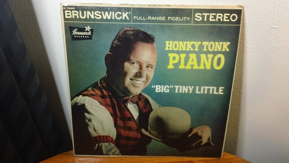 "Big Tiny Little - Honky Tonk Piano - BL 754049 - 12"" vinyl lp, album, stereo (Brunswick Records,195?)"