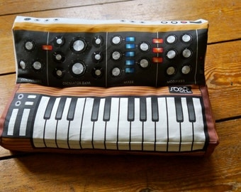 Minimoog Pillow