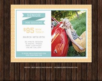 Senior Mini Session Marketing Template / Board - E22