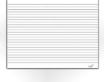 Blank cursive paper