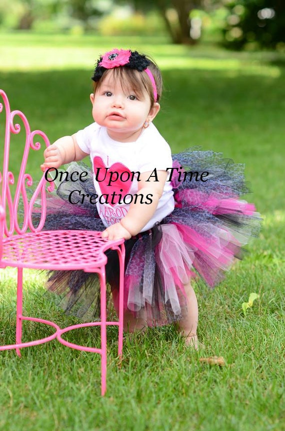 Pink Leopard Tutu - Perfect for Photo Prop, Dress Up, Halloween Costume, Birthday Gift Size Baby Girl 3 6 9 12 Months 2T 3T 4T 5 6 7 8 10 12