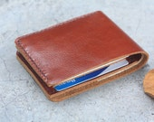 branch brown leather wallet