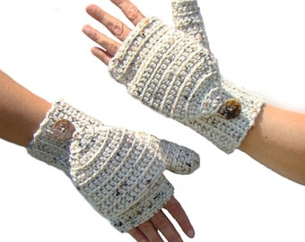 Free Crochet Patterns Flip Top Mittens : Flip top mittens Etsy