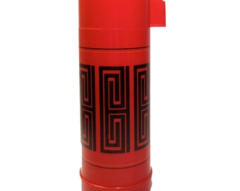 Vintage Red Thermos from Aladdin