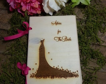Wedding Guest Book Advice For the Bride