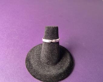 Sterling Silver Ring - Silver Moebius Ring - Mobius Ring