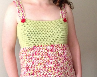Ladies Spring Crochet Top Pattern