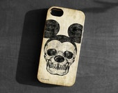 IPhone 4/4s/5 Case,Mickey Mouse skull Soft TPU Gel Silicone Cover iPhone gothic art