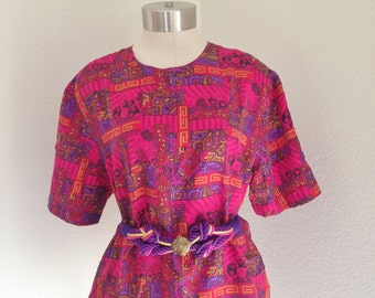 vintage hipster oversized blouse, oversized blouse, womens blouse, 80s, 90s, womens fashion