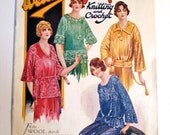 Vintage 1920s Knitting Pattern Book 'Weldon's' - pdf book