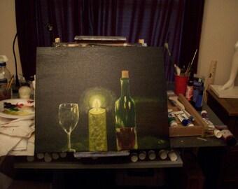 "16x20 Original Painting ""The Glow"""