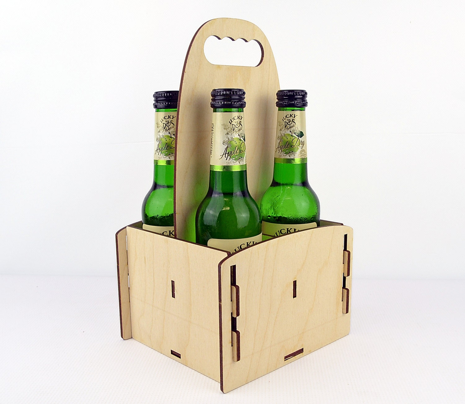 Wooden Packing Crates Wooden Beer Box / Diy 4 Pack