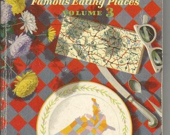 Vintage 1959 Ford Treasury of Favorite Recipes