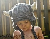 Earflap Baby Viking Hat (Newborn-3yrs)