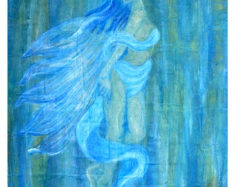 "Original Fine Art called ""Ascending Into Oneness"" by Charlotte Phillips"