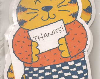 Kids Thank You Cards - Thank You Cards - Vintage Thank You Cards - 1990s Kids - 90s Kids