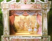 Jill Dianne Dollhouse Victorian Tabletop Ballet Theatre
