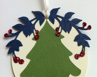Trees And Holly. It's Perfect, By Golly!