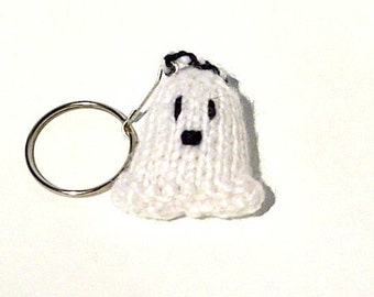 Key Chain - Knitted Ghost