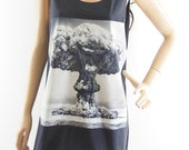 Graphic Tank Top Unisex Tshirt Women Tshirt Men Tshirt Black Tshirt Top Tunic Size M