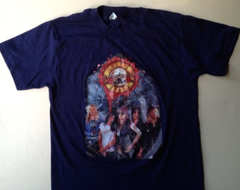 80s Vintage Guns n Roses T-Shirt - SMALL