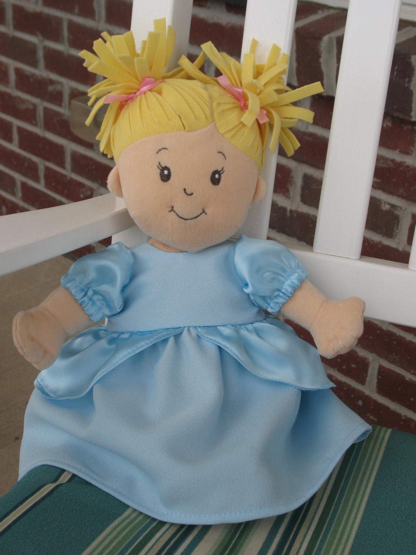 Dress fits Baby Stella Dolls Cinderella Handmade Doll