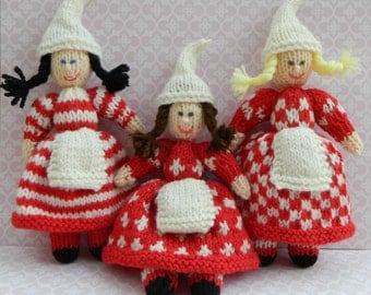 Knitting Pattern For Kindness Elves : christmas elf on Etsy, a global handmade and vintage ...