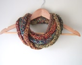 Woodland Scarf Necklace /...
