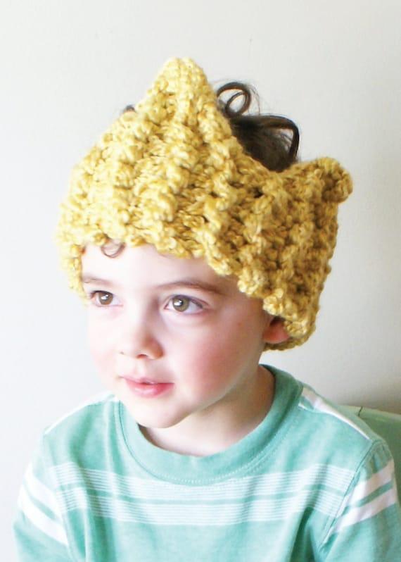 Chunky Knit Ear Warmer Pattern : DIY Knitting PATTERN Chunky Crown Ear Warmer / Headband in