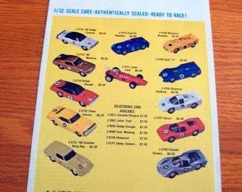1960s-70s Eldon Road Race Accessories Folder
