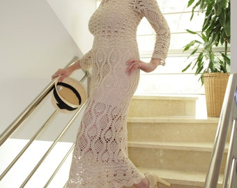 CROCHET FASHION TRENDS - exclusive crochet dress for a special occasion