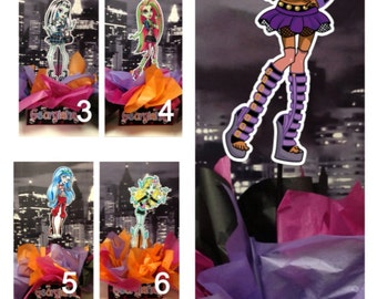 "DIY 12"" Small Monster High Birthday Party Centerpiece with FREE Supply Kit baby shower 1st Birthday Mitzvah"