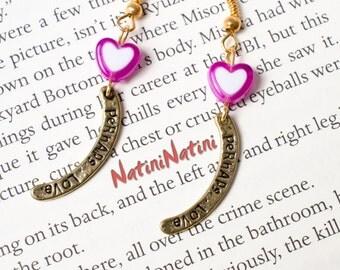 Perhaps love heart earrings