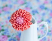 Peach Dahlia- Made To Order